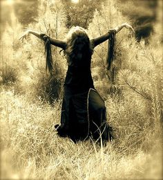 """I don't exactly know where or what this pic is from...or of, but it's titled """"Ostara Ritual"""". So I will go with that. ;) Besides, it is a beautiful shot. Aww beautiful Witchcraft."""