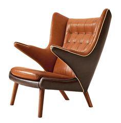 Furniture by prolific Danish Modernist designer Hans J. Wegner will go on display at Copenhagen's design museum next month,