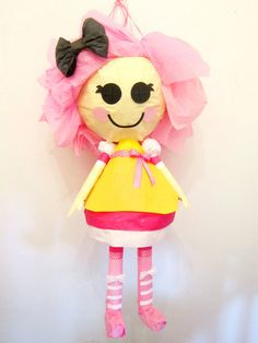Moving Pink LaLaLoopsy custom pinata moving cute by PinataMama, $100.00
