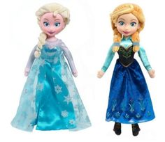 I haven't seen these plush Anna & Elsa Dolls, they are so so cute! My daughter already has some of other dolls, but this would be perfect for my niece who is only 2 :)