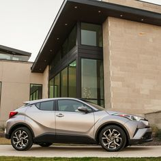 The Toyota C-HR makes a great accessory for your garage.