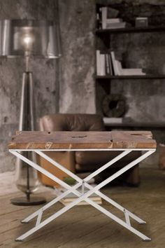Root Wood Console Table