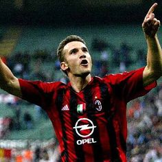 Andriy Shevchenko - at Milan from 1999 - 2006 and 2008 - 2009
