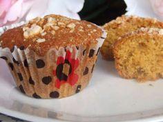Ricetta Dessert : Muffins di zucca con gocce di cioccolato da Menu turistico