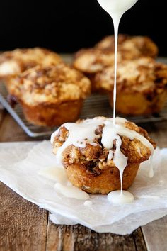 Cinnamon Roll Muffins - Easier than a cinnamon roll but with the same delicious flavor! Easy Breakfast!