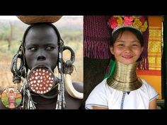 Les Differents STANDARDS DE BEAUTE Dans Le Monde - YouTube