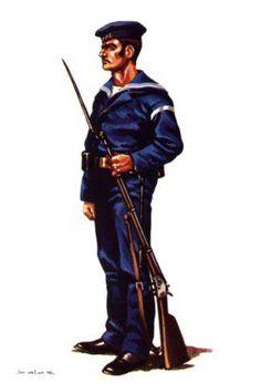 MARINERO - 1885 Navy Uniforms, Military Uniforms, Us Marines, Latin America, Spanish, Empire, Batman, Superhero, Warriors
