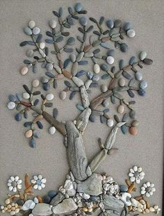 → Beach wall home decor. Genuine Green Sea glass art Pebble art home decor beach. Genuine Green Sea glass art Pebble art home decor beach. Stone Crafts, Rock Crafts, Diy And Crafts, Arts And Crafts, Driftwood Crafts, Seashell Crafts, Beach Crafts, Seashell Projects, Art Rupestre
