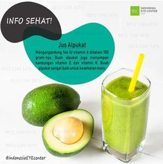 IEC: Jus Alpukat untuk Mata Healthy Drinks, Healthy Tips, Healthy Recipes, Homemade Spices, Poker Online, Natural Beauty Tips, Natural Medicine, Health And Beauty, Smoothies