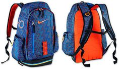 2313bab2ee0 KD Backpack ELITE Fast Break by NIKE Blue LIMITED. Nike Kd BackpackSling BackpackKevin  Durant BackpackBasketball ...