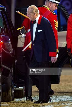 Prince Philip Duke Of Edinburgh Departs Queen Elizabeth IIs 90th Birthday Celebrations At Home Park