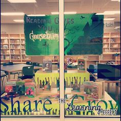 Goosebumps Book Display | The Learning Effect
