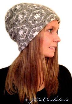 Crochet Pattern - African Flower Hat