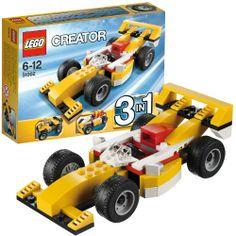 LEGO 31002 Creator: Rennwagen  http://www.meinspielzeug24.de/lego-31002-creator-rennwagen  #Junge, #LEGOCreator #Konstruktionspielzeug, #Spielwaren