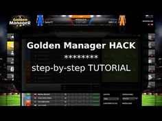 How to cheat with Golden Manager HACK [ tutorial ] - YouTube