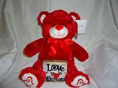 "Valentines12.5"" Red Plush Bear with Red Satin Ribbon and ... https://www.amazon.com/dp/B01NBSAX1K/ref=cm_sw_r_pi_dp_x_VjwEyb28ARAC0"
