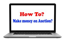 How to make money on Auction?