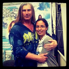 I got to meet Fabio! :) #Fabio #Fabiolanzoni #model #celebrity #awesome #random #fun