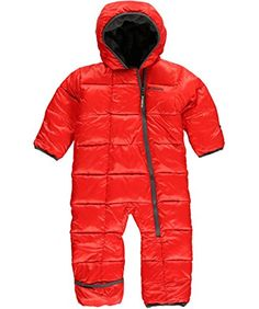 de5dee15c Columbia Baby-Boys Infant Frosty Freeze Bunting, Bright Red/Graphite, 18/