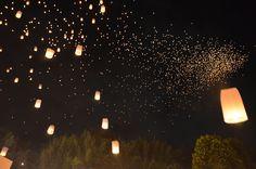 The joy of Yi Peng, 10000 Lantern Release Festival – Chiang Mai