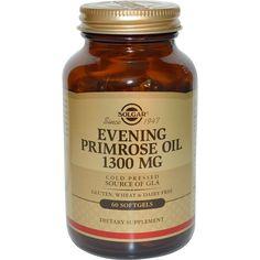 Solgar, Evening Primrose Oil, 1300 mg,  60 Softgels