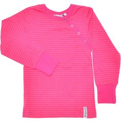 Button sweater cerise/pink