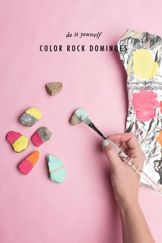 domino pedres pintades