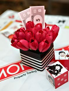 Amazing Monopoly First Birthday Party {Korean Dol}