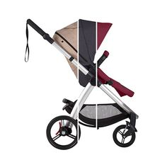 cosmopolitan features a sleek tailored seat with forward and rear facing options, a zip open sunhood and silent peek-a-boo window. Mountain Buggy, Peek A Boos, Cosmopolitan, Mocha, Bordeaux, Baby Strollers, Window, Ink, Beautiful