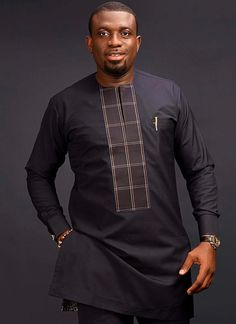 Pictures Of Latest Native Styles For Guys Manly 24 is part of Nigerian men fashion - The most stylish collection of native styles and designs for guys and men in Nigeria These men native styles for guys are meant to make you stylish and matured African Shirts For Men, African Dresses Men, African Attire For Men, African Clothing For Men, Latest African Fashion Dresses, African Print Fashion, African Wear, African Suits, Costume Africain