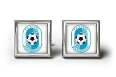 FC STAHL BRANDENBURG CUFFLINKS MANSCHETTENKNÖPFE #Cufflinks #designercufflinks #gift