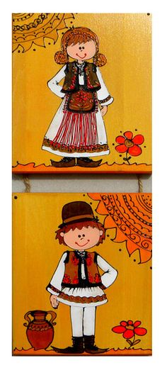 pictura motive traditionale 10 Crafts For Kids, Arts And Crafts, Traditional Paintings, Folk Art, Paint Colors, Decoupage, Embroidery, Disney Characters, Drawings