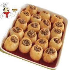 اشهى الاكلات الرمضانية طريقة عمل وتحضير البطاطس باللحم المفروم والبصل | الفجر للتصميم