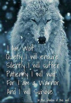 lower arm tattoos for men, best ideas for first tattoo, osiris tattoo designs, o Be Wolf, Wolf Love, Osiris Tattoo, Great Quotes, Quotes To Live By, This Is Me Quotes, I Am Quotes, Pain Quotes, Soul Quotes