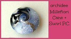 Swirl Perlen II , Polymer Clay Swirl Beads, RuthvonG - YouTube