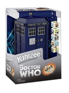 Amazon.com: Yahtzee: Doctor Who Collector's Edition: Toys & Games
