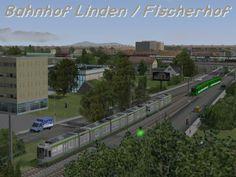 Diorama Bahnhof Linden-Fischerhof