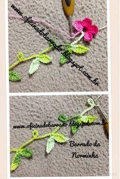 OFICINA DO BARRADO: Croche - Um Barradinho simples e bem especial...