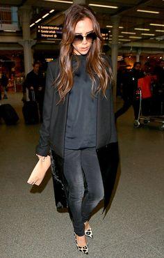 Las mejor vestidas de la semana - Victoria Beckham his shoes <3