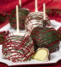 christmas caramel apples ideas | Christmas Stocking Gifts – Last minute ideas (christmas treats for neighbors)