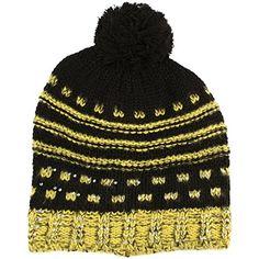 Winter Slouchy Knit Long Beanie Pompom Ski Hat