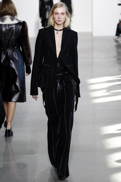 Calvin Klein Collection Fall 2016 Ready-to-Wear Fashion Show - Nastya Sten
