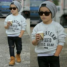 52 Little Boy Outfits To Make Your Boy Look Fashionable - - The most beautiful children's fashion products Baby Outfits, Outfits Niños, Little Boy Outfits, Casual Fall Outfits, Toddler Outfits, Trendy Boy Outfits, Little Boys, Toddler Boy Fashion, Little Boy Fashion