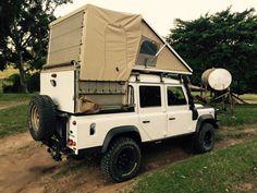 Custom roof tent