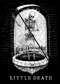 Little Death - Tarot by Killer Napkins, via Behance