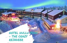 The enchanted Hotel Hullu Poro and Levi Centre truly brings back the magic and charm so often lost and forgotten in our everyday lives. This magnificent hotel and village with all its charm and range of activities is a delight for the entire family.  To view our blog go to www.minivoyagers.com!! You can now subscribe to our newsletter on our website. #travelingwithkids #holidayswithkids #familyvacation #family #familytravel #minivoyagersfamilytravel Holidays With Kids, Enchanted, Family Travel, Reindeer, Centre, Bring It On, Lost, Range, Magic