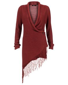Cardigan Pattie from Aaiko, $140, but in a different colour!