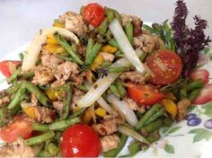 Sauté Spicy Chinese Long Bean with Minced Pork 辣炒肉碎長豆