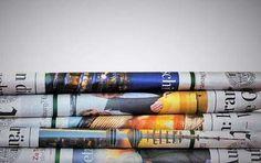 Riciclo carta di giornale - Giornali