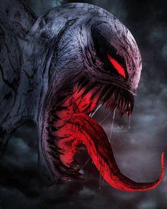 No photo description available. Anti Venom Marvel, Venom Spiderman, Spiderman Art, Amazing Spiderman, Venom Comics, Marvel Comics Art, Marvel Memes, Venom Tattoo, Symbiotes Marvel